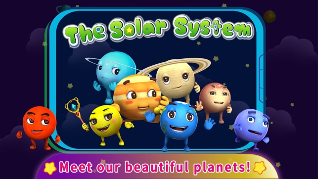 The Solar System by BabyBus on the App Store