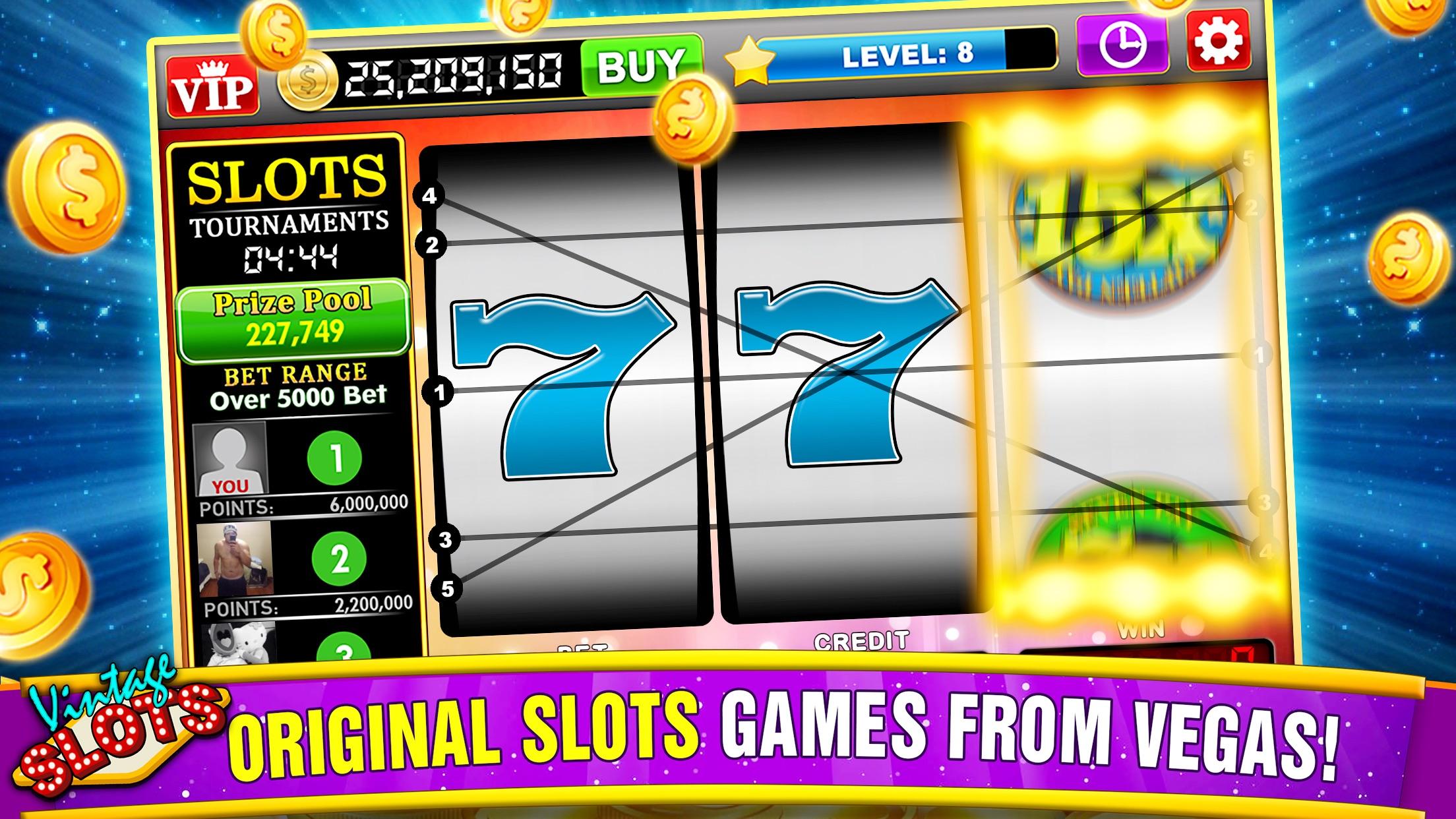 Vintage Slots Las Vegas - Old Slot Machine Games! Screenshot