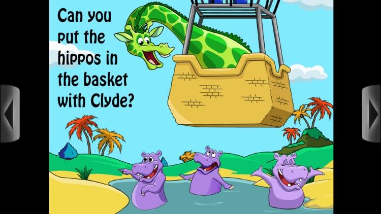 Clyde and Friends - Interactive book app for children screenshot-3