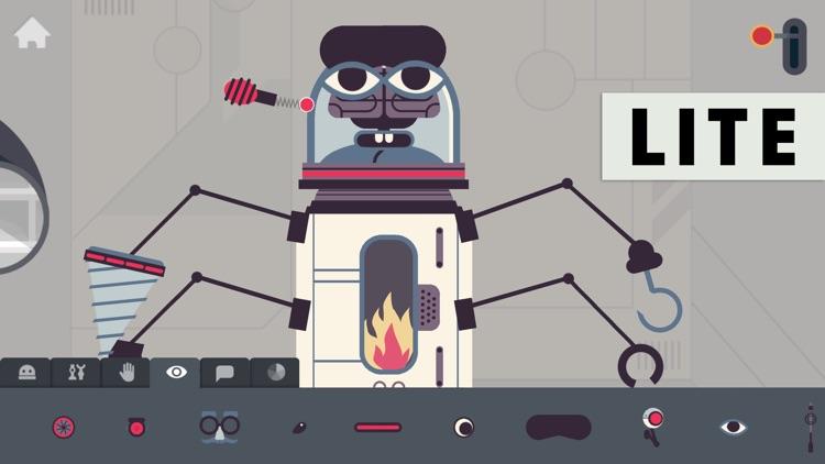 The Robot Factory by Tinybop Lite screenshot-0
