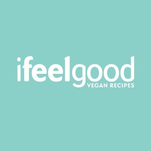I Feel Good Vegan Recipes and Meal Plans app logo