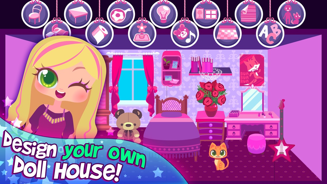 My Doll House - Virtual Dream Home Maker Screenshot