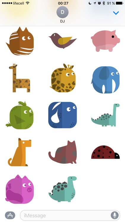 Simple Animal Stickers screenshot-4