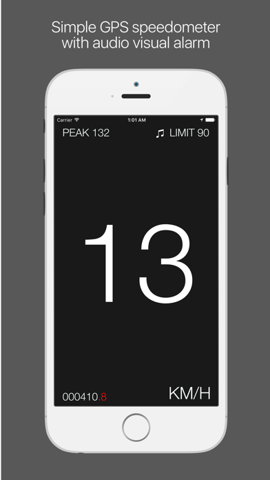 Screenshot #1 pour Speedo - speedometer with speed limiter and HUD mode