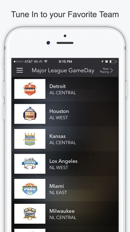 Major League Game Day Pro Baseball - Radio for MLB screenshot-4
