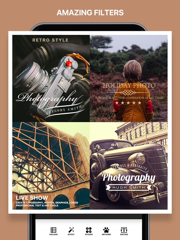 Photo Poster - Photo Effects & Cool Image Filters for Instagram Snapchat  Prisma | App Price Drops