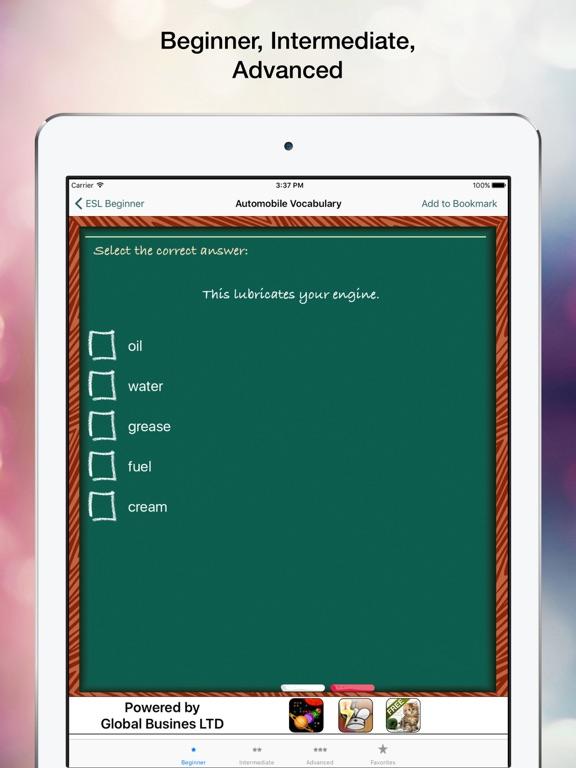 ESL Tests Скриншоты6