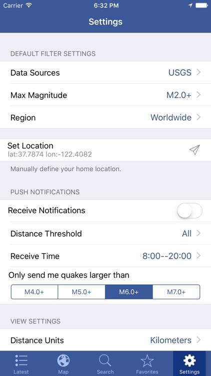 Earthquakes - Latest Global Quakes Info & Alert screenshot-4