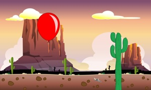 Balloon vs. Cactus