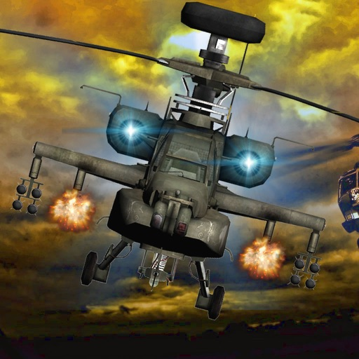 Air Combat Helicopter Race - An Explosive Flight