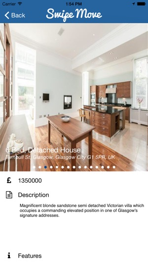 Swipe Move   Property Search On The App Store