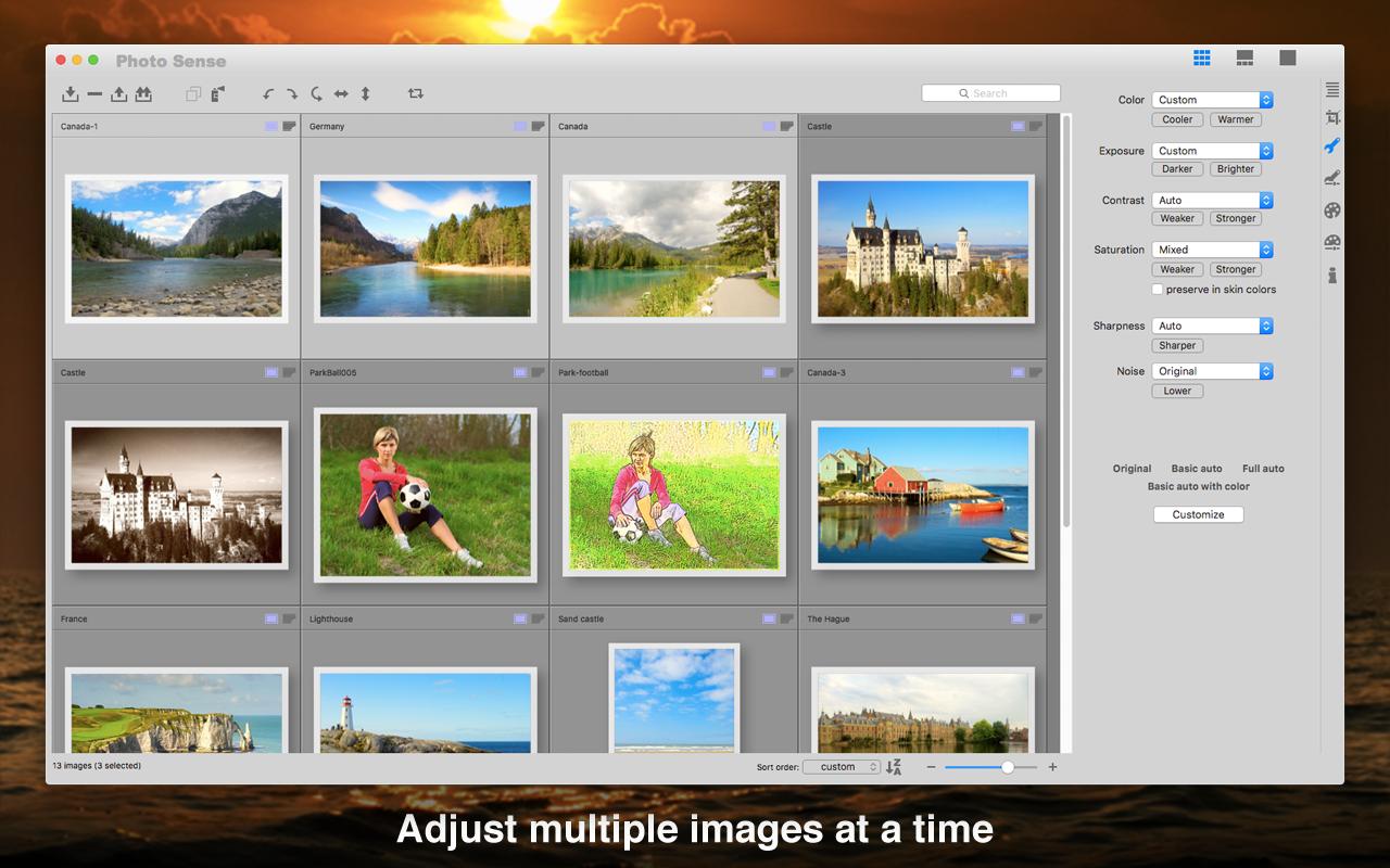 Photo Sense 2.1.3 Mac 破解版 照片批量编辑和增强工具