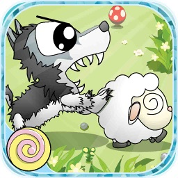 Sheepo Hunt - Hungry wolf hunt for prey