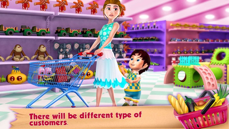 Supermarket Grocery Cashier screenshot-2