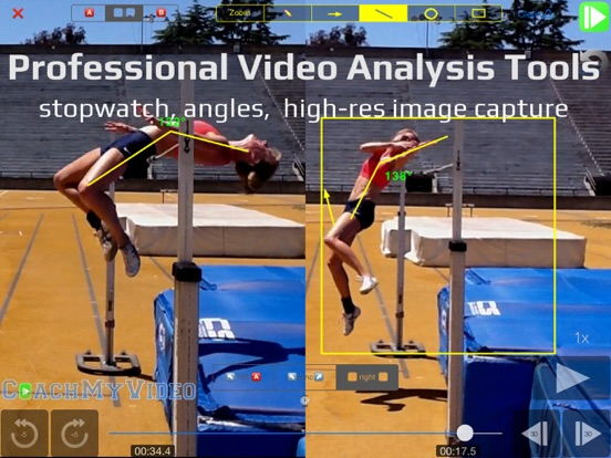 CMV Pro: Frame-Frame Video Analysis - CoachMyVideo Screenshots