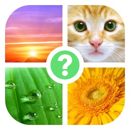 4 Bilder: Was ist das Wort?