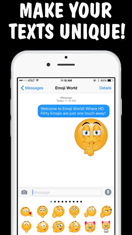 Flirty Emojis 2 Keyboard - New Emojis by Emoji World screenshot-3