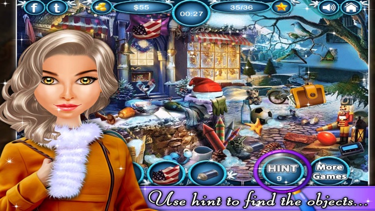 Power of Blizzard - Hidden Objects game for kids and adults