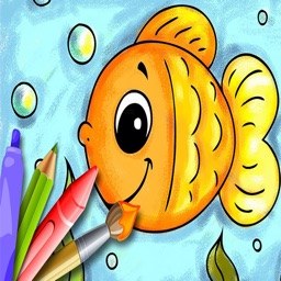 Kid Paint : Easy for Preschoolers,Children Draw,Baby Fun,Kids Train