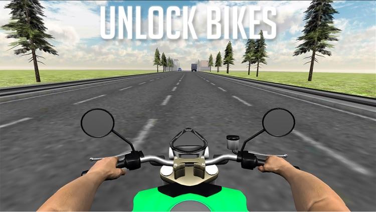 On Bike Traffic Racing