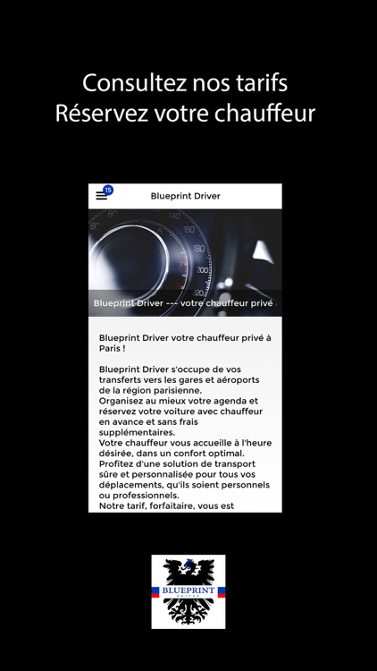 Blueprint driver by digital agency blueprint driver screenshot 1 malvernweather Choice Image