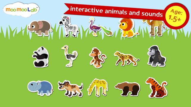 Les Animaux Du Zoo Et Les Animaux Sauvages De La Savane