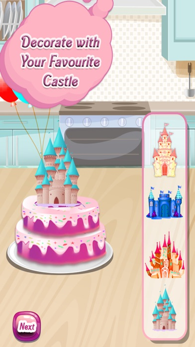 点击获取Princess Palace Cake maker - Bake a cake in this crazy chef parlour & desserts cooking game