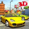 3d Taxi car driver Parking simulator free games