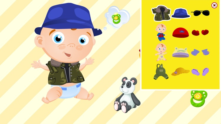 My Baby Friend Free - cute and funny tickling game screenshot-3