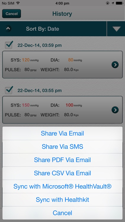 Blood Pressure - Smart Blood Pressure (SmartBP) BP Tracker screenshot-3