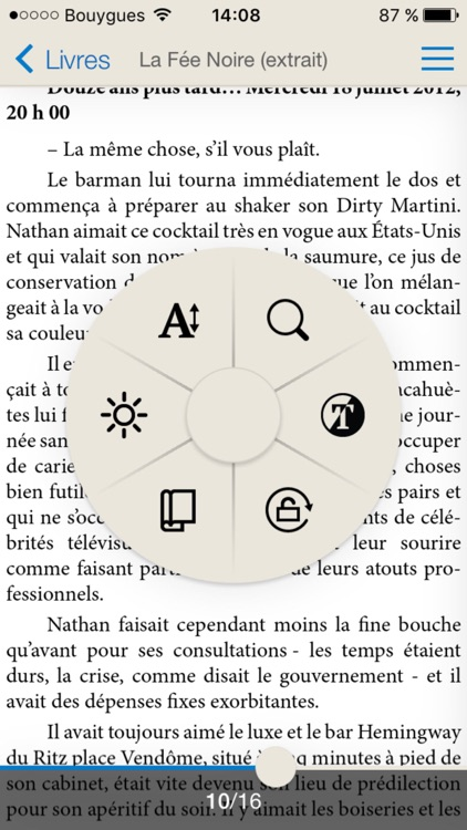 Chapitre ebooks screenshot-2
