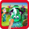 Train Wash Salon – Cleanup & fix rusty & messy locomotive in this washing game