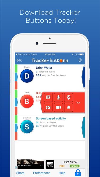 Tracker Buttons Pro - Life Tracker screenshot-4