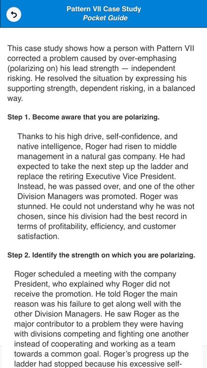 Opposite Strengths® Pocket Guide screenshot-3