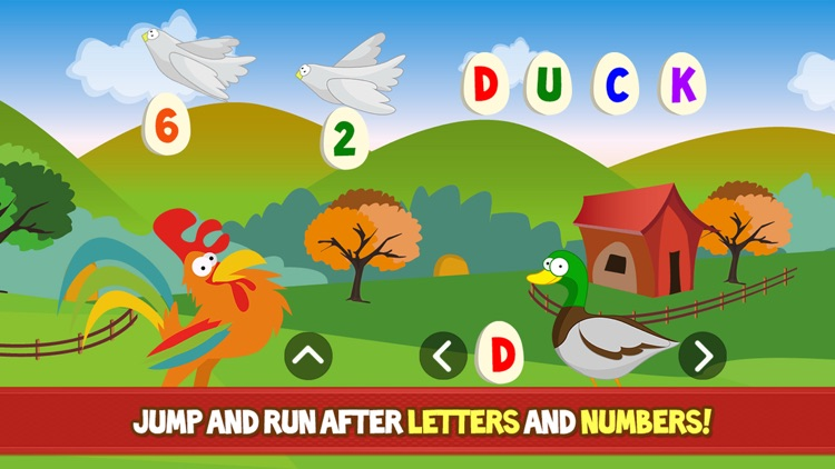 Farm Adventure for Kids - Educational game with animals and letters for children, toddlers, babies, boys and girls screenshot-3
