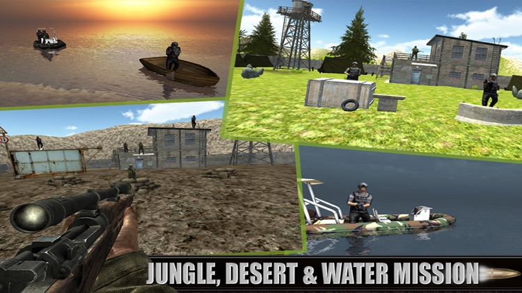 Lone Army Sniper Shooter : Rebel Camps Shoot Outs screenshot-4