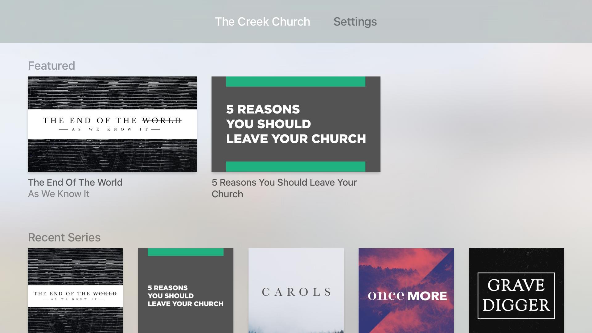 The Creek Church screenshot 7