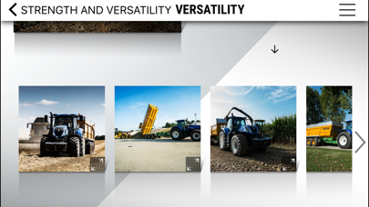 New Holland Agriculture T7 Heavy Duty range app screenshot four