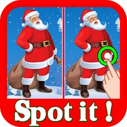 Christmas Find The Difference : Spot The Difference Hidden Objects