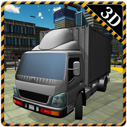 3D Cargo Truck Simulator – Mega lorry Driving & parking simulation game
