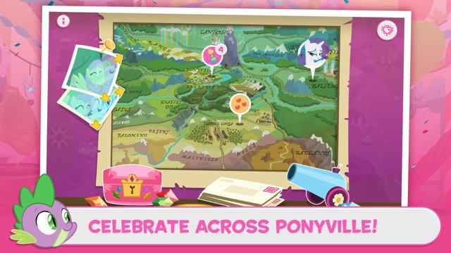 My Little Pony Friendship Celebration Cutie Mark Magic Screenshot