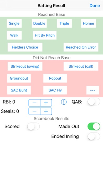 Screenshot for Baseball Softball Pocket Coach in United States App Store
