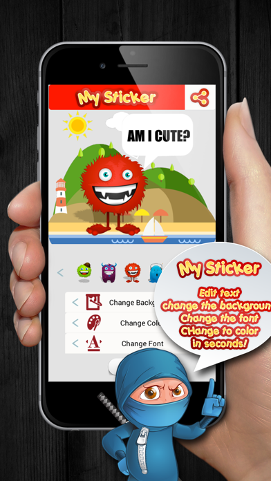 Download My Sticker for Pc
