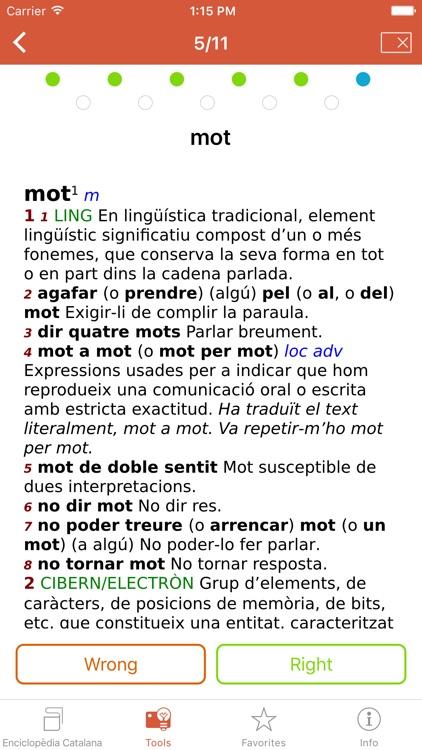 Advanced Catalan Dictionary from Enciclopèdia Catalana screenshot-3