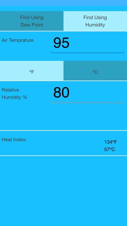 Heat Index Calculator screenshot-4
