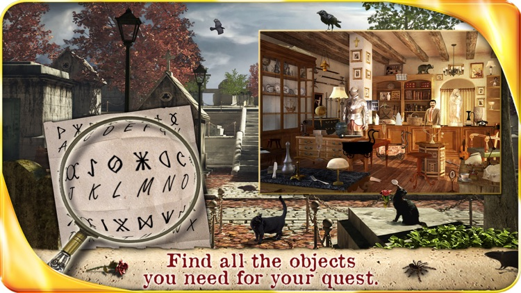 A Vampire Romance – Extended Edition - A Hidden Object Adventure screenshot-4