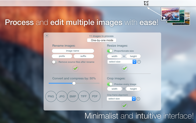 ImaPic - edit and share images fast and easy! Screenshot