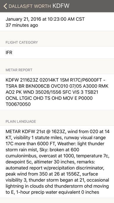 download METARs Aviation Weather apps 3