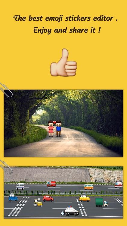 QuickMoji - add emoji  on you photo screenshot-4
