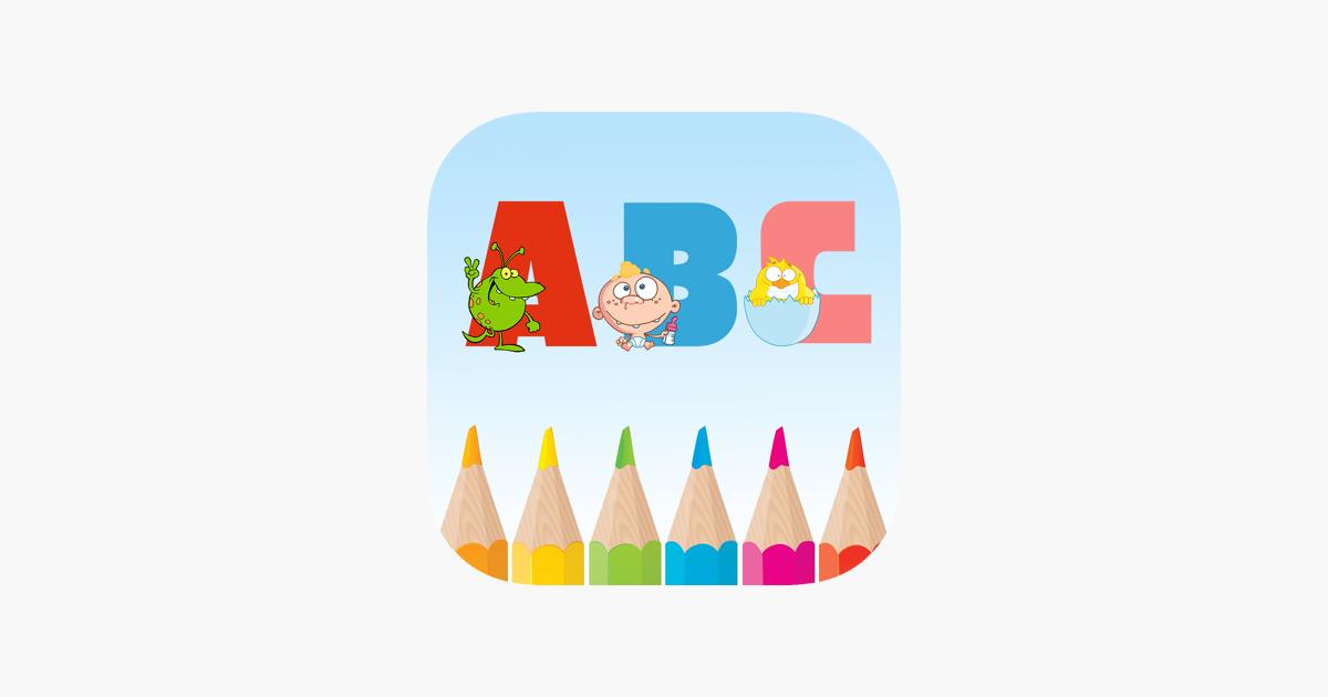 Boyama Oyunları Alfabetik Boyama Renkler Okul öncesi Anaokulu